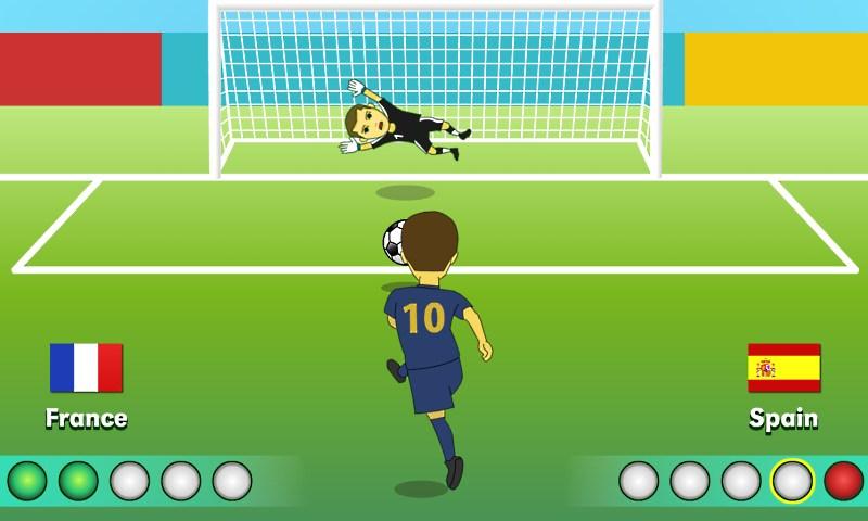 Игры футбол пенальти