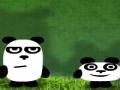 приключения трех панд