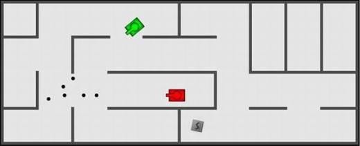 Игры Танки в лабиринте