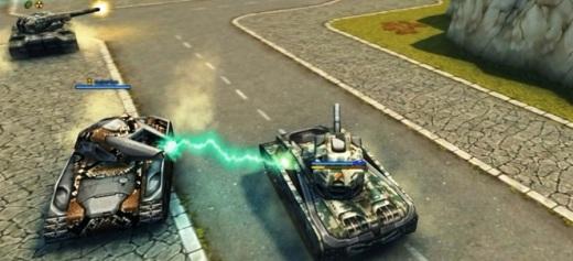 Игры на двоих танки